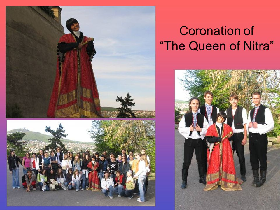 Coronation of The Queen of Nitra