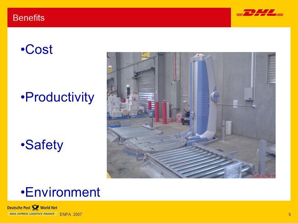 6ENPA 2007 Benefits Cost Productivity Safety Environment