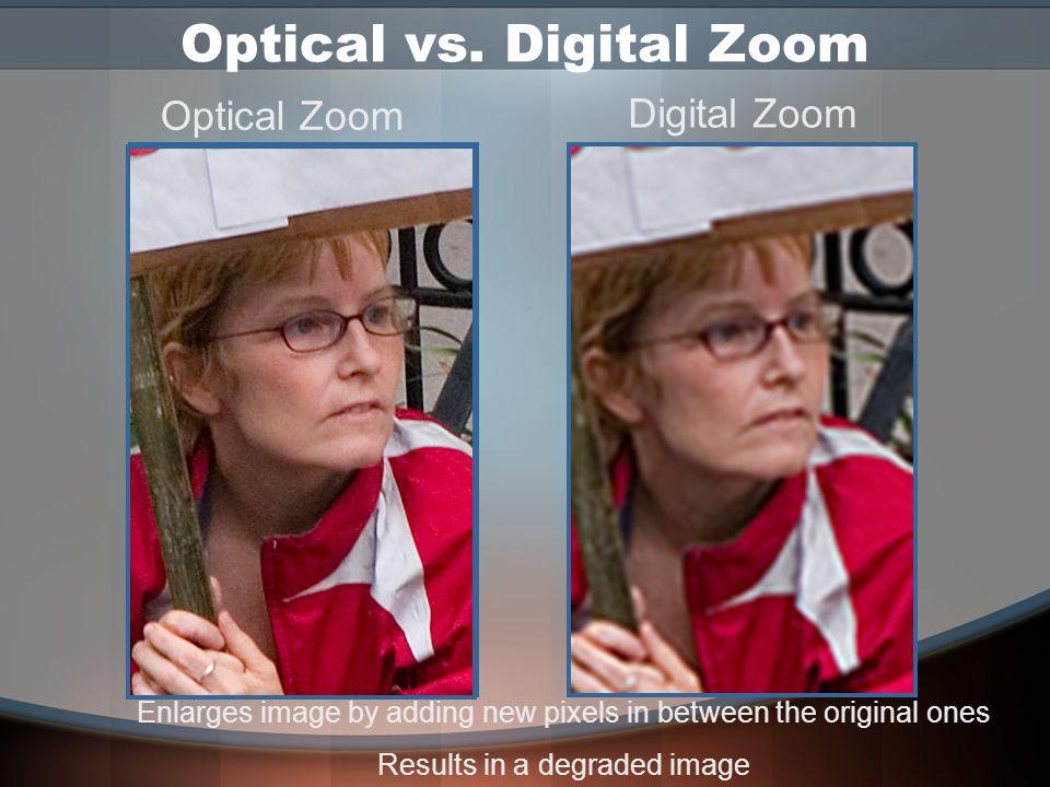 Lenses: Quality Film captures light evenly across its surface Digital sensor can lose light near the edges Use highest quality lenses or dedicated digital lenses