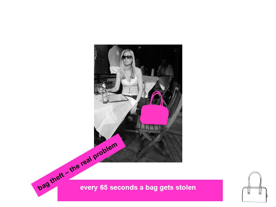 every 65 seconds a bag gets stolen