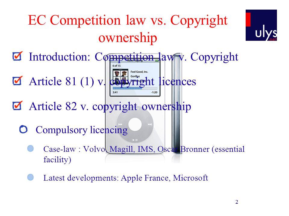 13 EC Competition law vs.