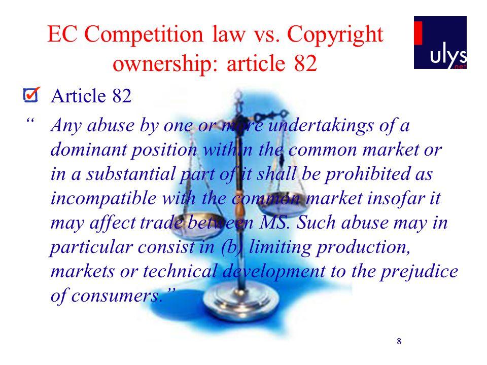 9 EC Competition law vs.