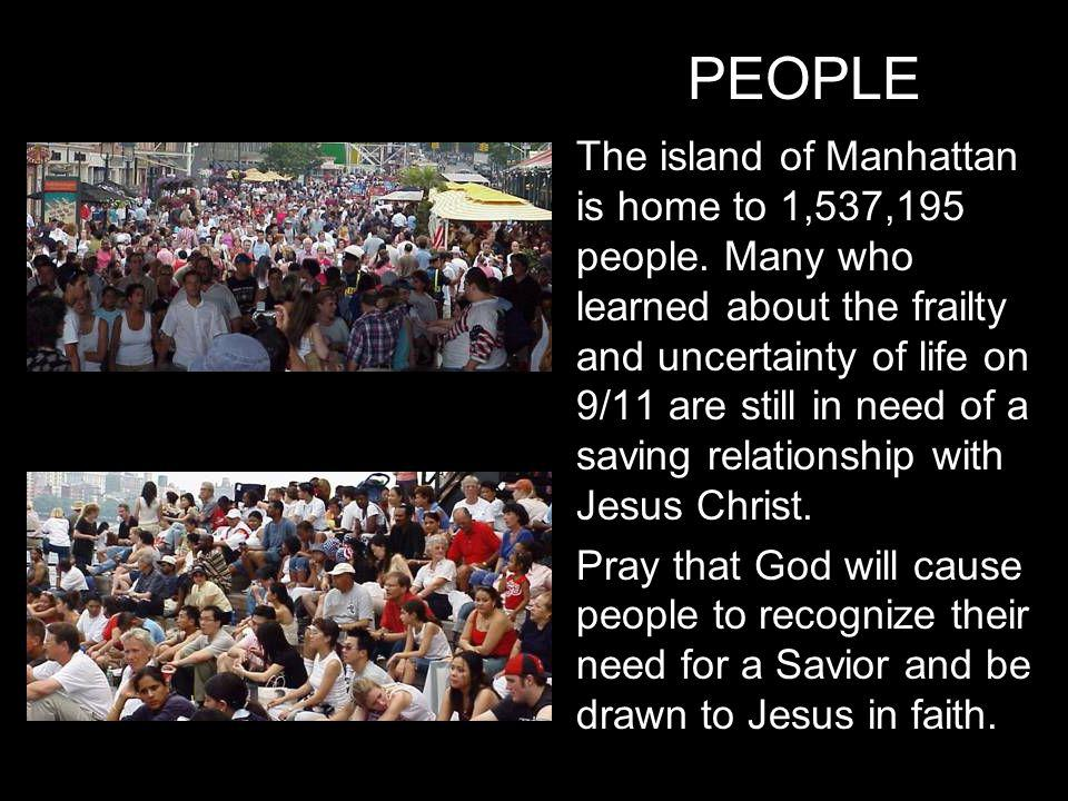 The island of Manhattan is home to 1,537,195 people.