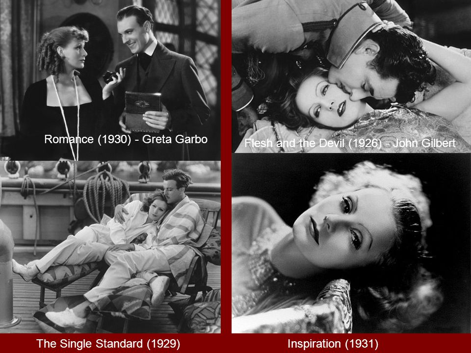 Greta Garbo, ranked as the fifth greatest female star of all time by the AFI s 100 Years...