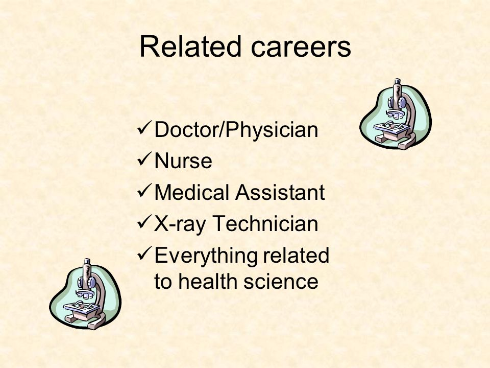 Types of HS thematic electives: A four year thematic sequence might start with medical terminology and technology and end with internships at hospital