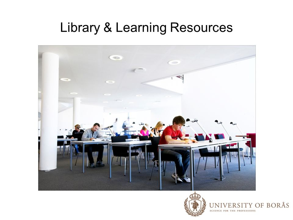 Library & Learning Resources