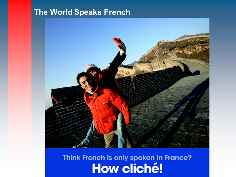 The World Speaks French