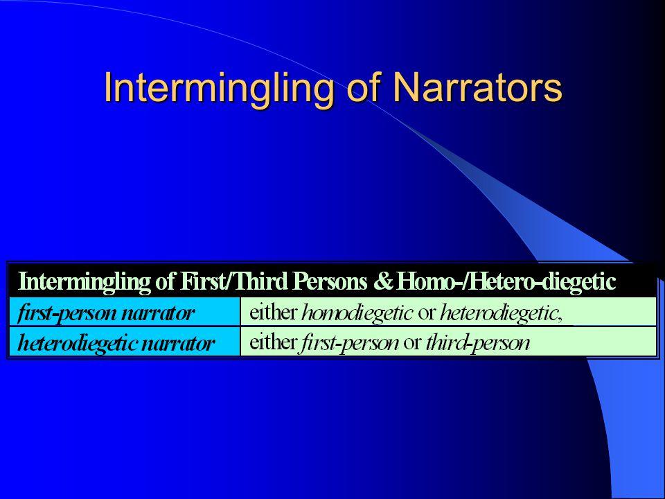 Intermingling of Narrators