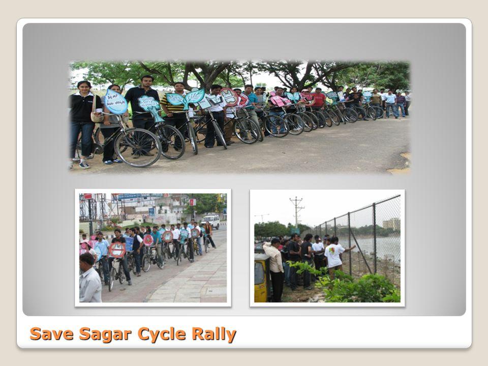 Save Sagar Cycle Rally