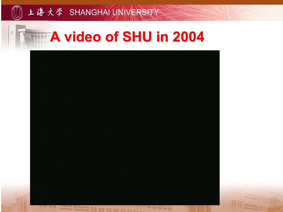 A video of SHU in 2004