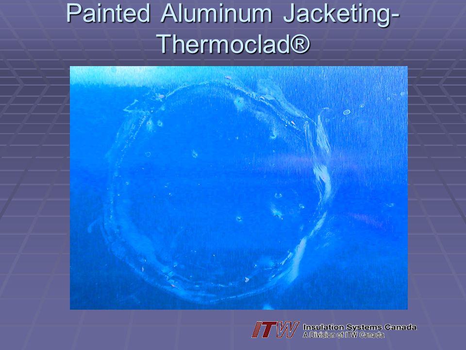 Painted Aluminum Jacketing- Thermoclad®