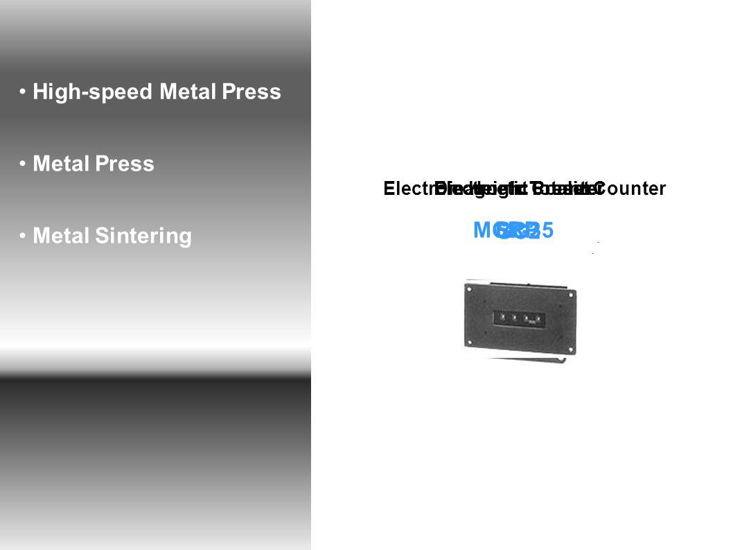 High-speed Metal Press Metal Press Metal Sintering MCP-35 Electromagnetic Preset Counter GC2 Electronic TotalizerDie Height Counter SRPRLP