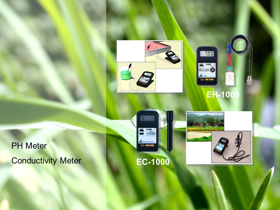 PH Meter Conductivity Meter EC-1000 EH-1000