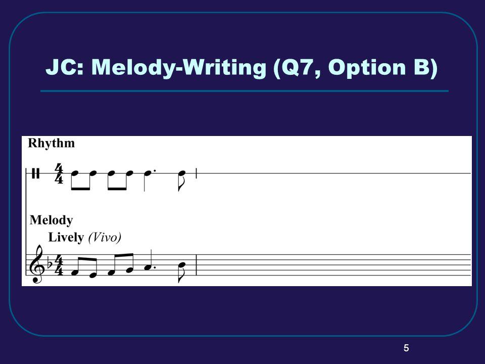 6 JC: Q7 Option B – Possible Solution