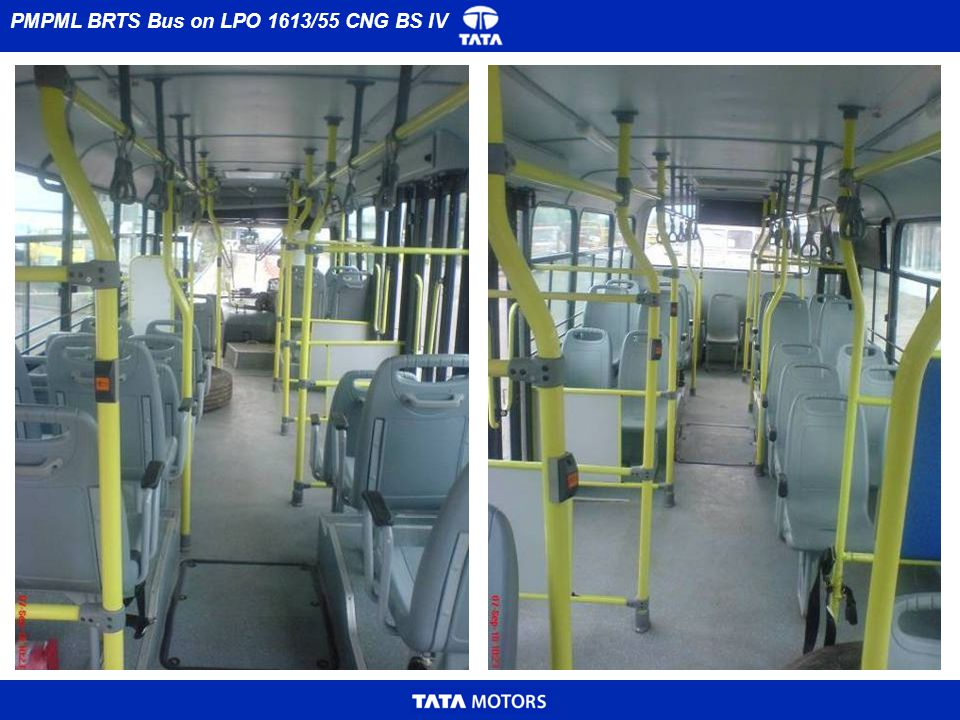 AJL BRTS Bus on LPO 1613/55 CNG BS IV