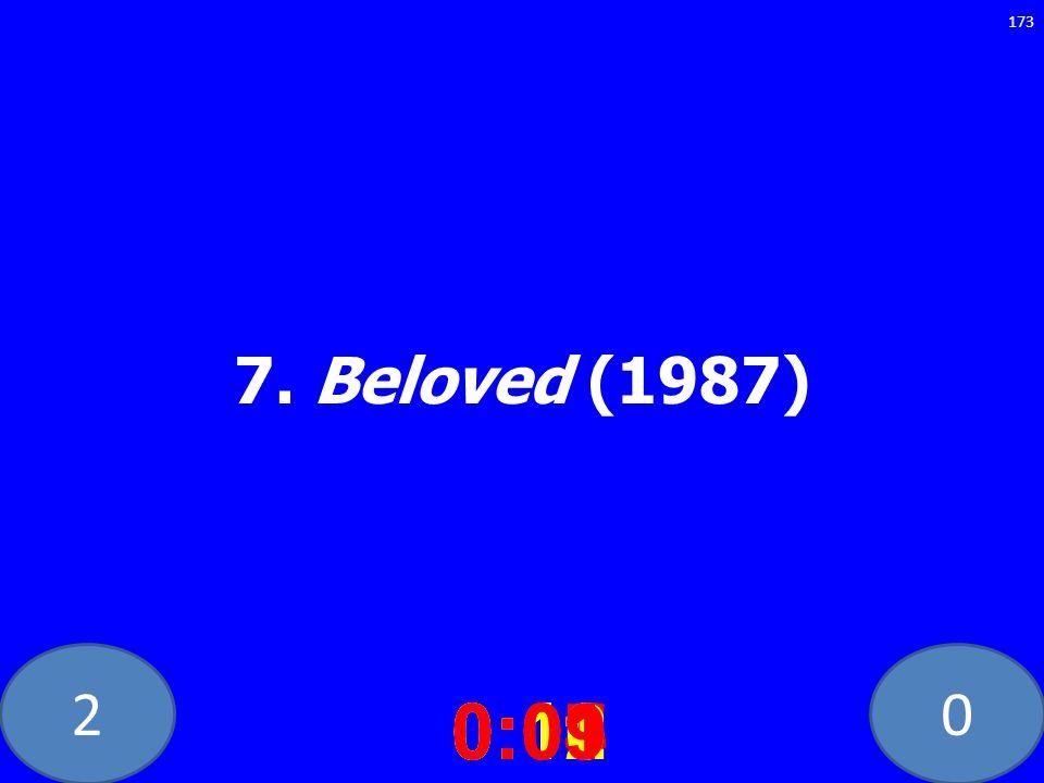20 7. Beloved (1987) 0:020:030:040:050:060:070:080:100:110:120:090:01 173