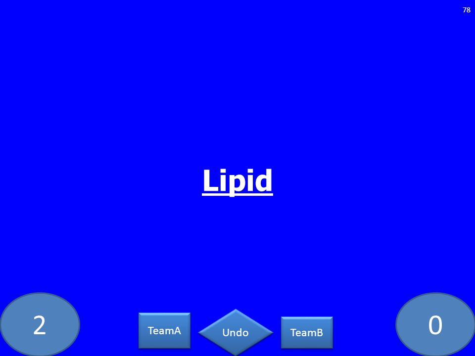 20 Lipid 78 TeamA TeamB Undo