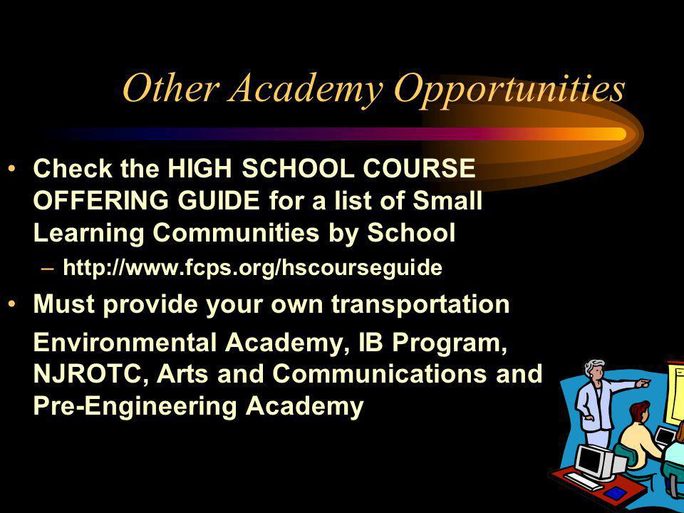BHS TEACHING ACADEMY Academy Admission Requirements: 1. 3.0 GPA or better 2. 90% Attendance for previous year 3. Must fulfill the University of Maryla