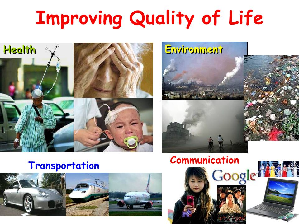 Improving Quality of Life Transportation Health Communication Environment