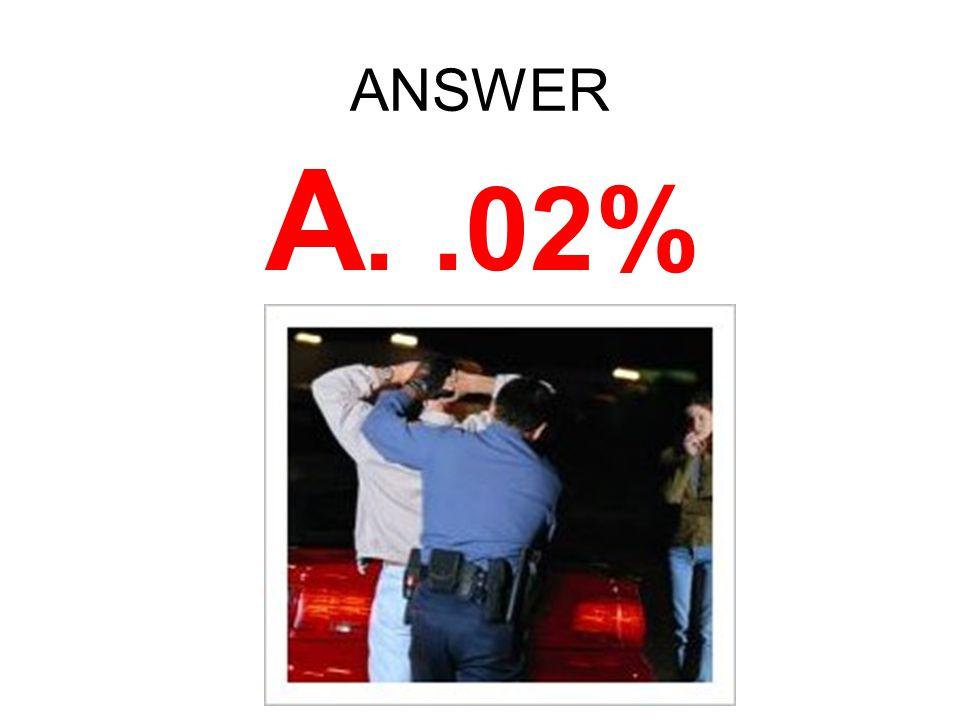ANSWER A..02%