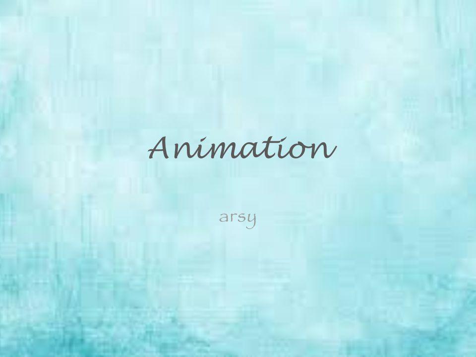 Animation arsy