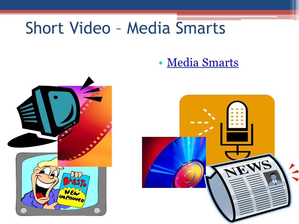 Short Video – Media Smarts Media Smarts
