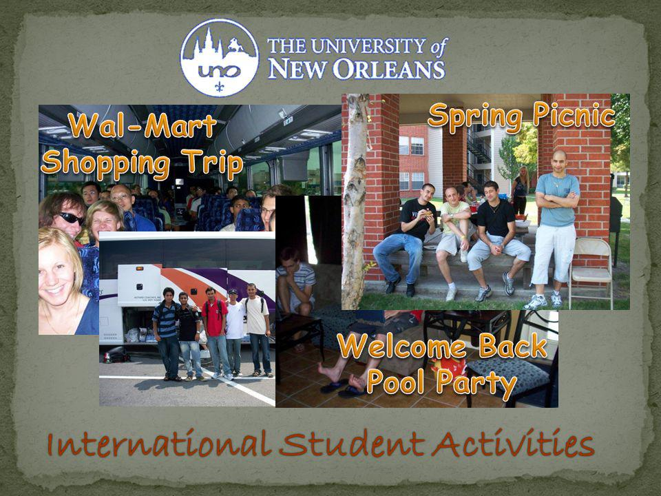 International Student ActivitiesInternational Student Activities