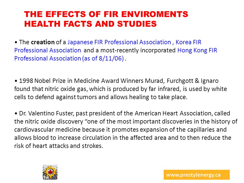 THE EFFECTS OF FIR ENVIROMENTS HEALTH FACTS AND STUDIES The creation of a Japanese FIR Professional Association, Korea FIR Professional Association an
