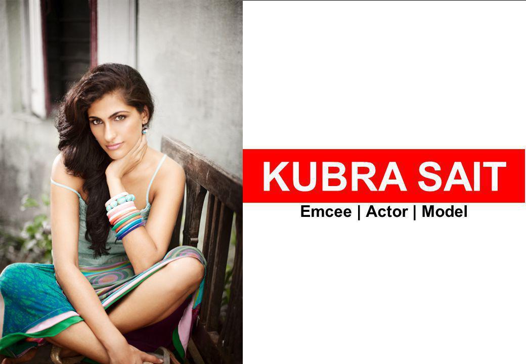 Emcee | Actor | Model KUBRA SAIT