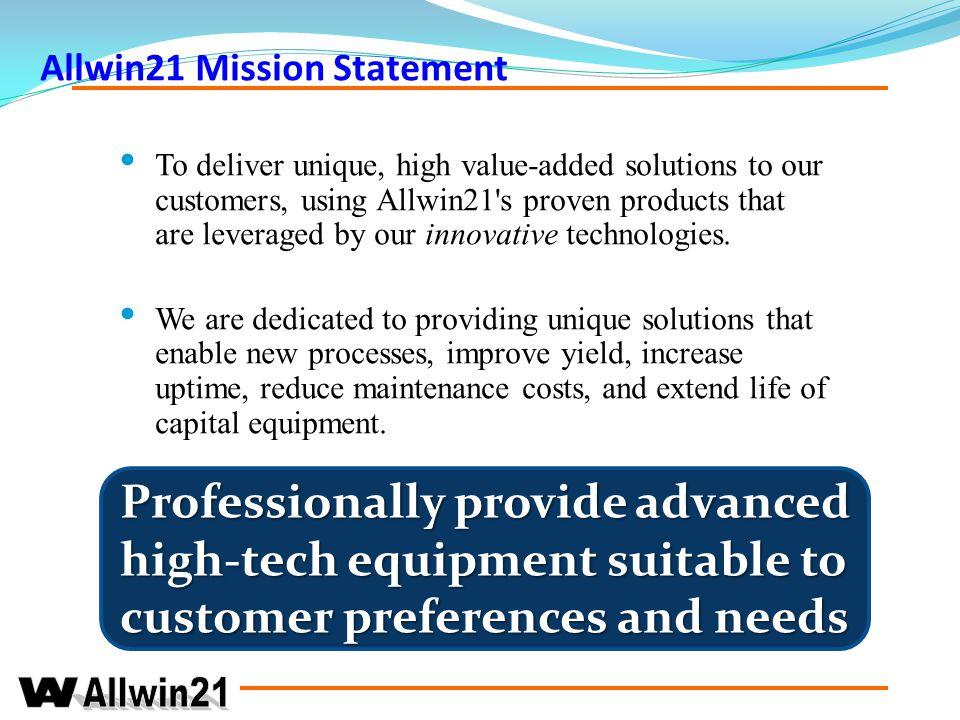 Company Distribution Allwin21 Corp Beijing.