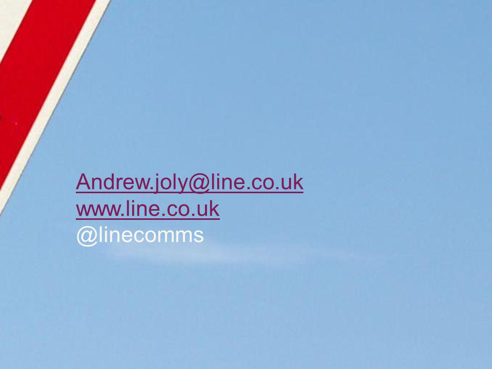 Andrew.joly@line.co.uk www.line.co.uk @linecomms