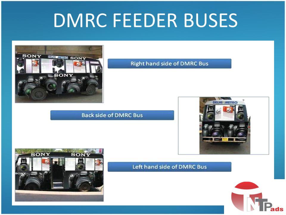 DMRC FEEDER BUSES
