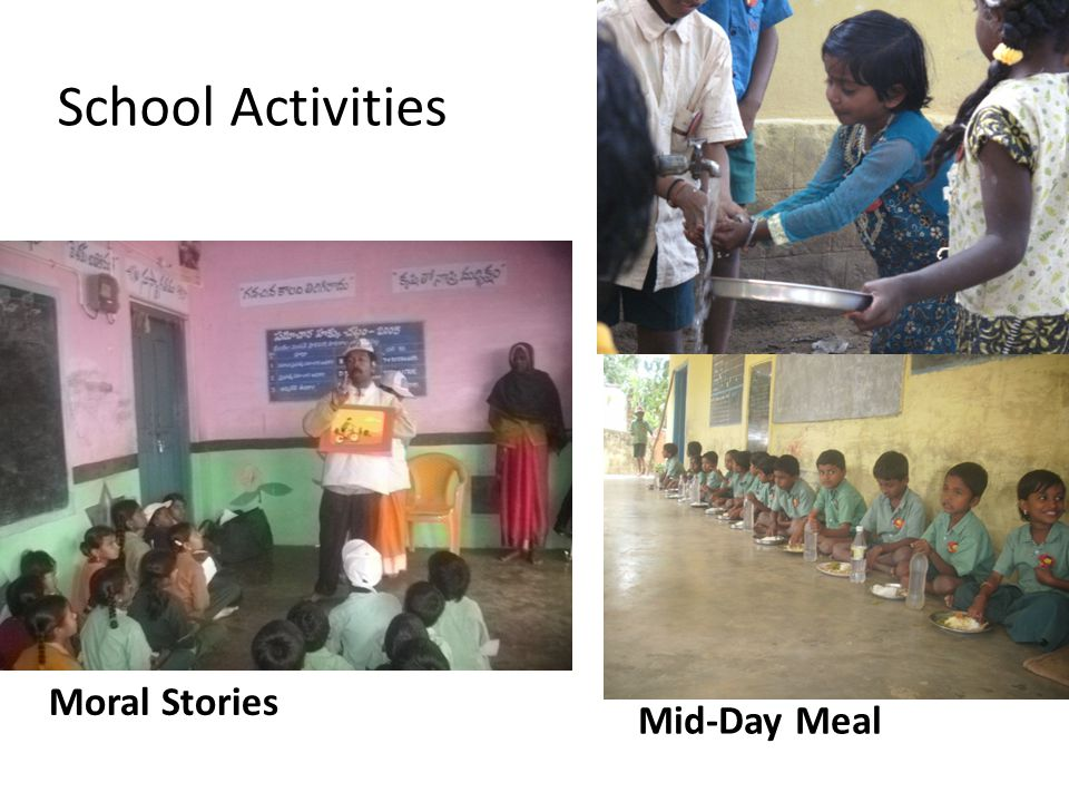 Mid-Day Meal Moral Stories School Activities