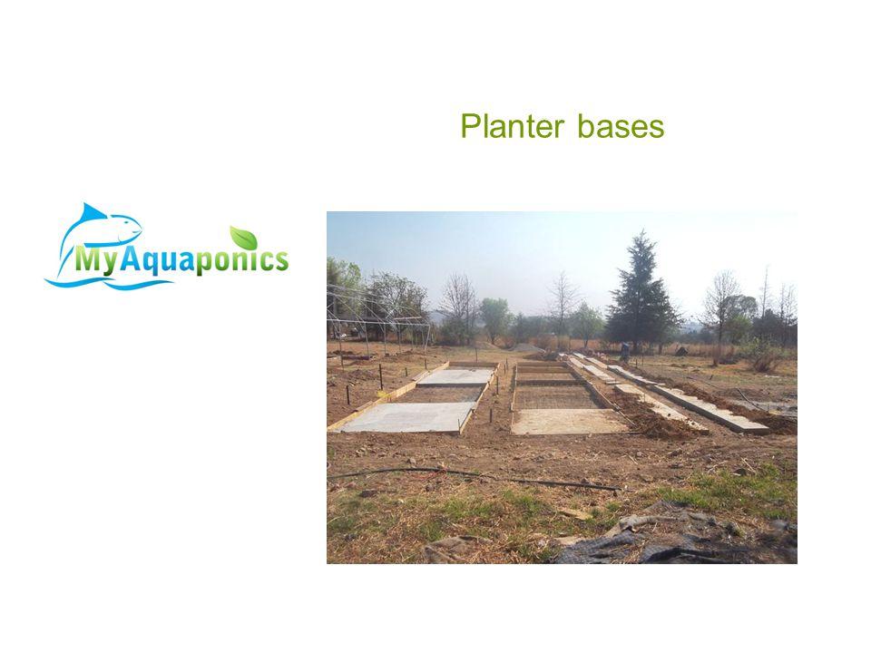Planter bases