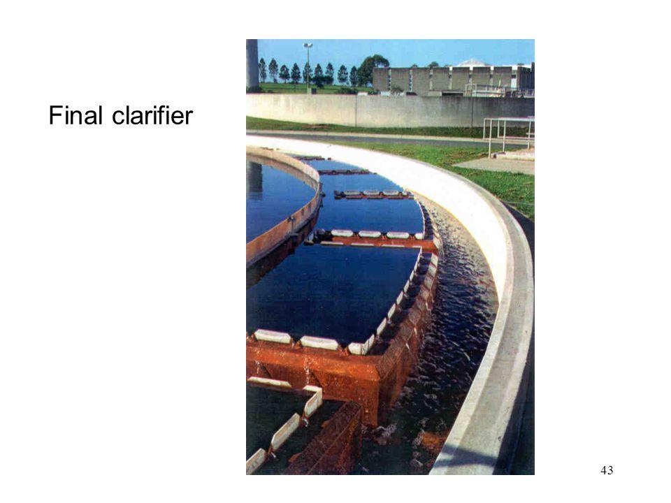 43 Final clarifier