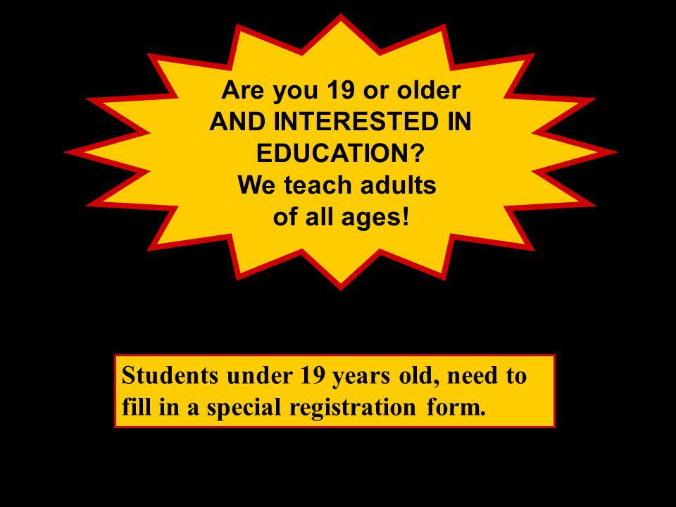 Columbia Square ADULT LEARNING CENTRE SCHOOL DISTRICT 40, NEW WESTMINSTER (Students do NOT have to live in New West to register) Click to continue