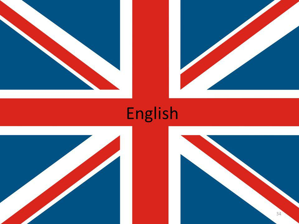 English 34