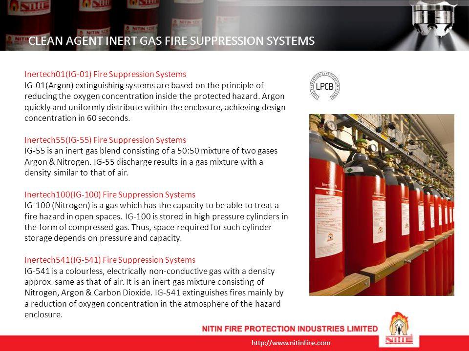 http://www.nitinfire.com FIRE EXTINGUISHERS BS EN3 (KITEMARK) 6L, 9L Foam(3% AFFF) Stored Pressure Extinguishers 9L Water Extinguishers 2Kg, 5Kg, Alloy Steel Material CO 2 Extinguishers 1Kg, 2Kg, 6Kg, 9Kg with 40% / 50% / 70% / 90% ABC Powder, Stored Pressure Extinguishers BIS APPROVED As per IS 15683 Stored Pressure ABC Type Dry Powder Type - Portable CO 2 Type - Portable Mechanical Foam Type Water Type As per IS 2878 Dry Powder Trolley Mounted CO 2 type Trolley Mounted