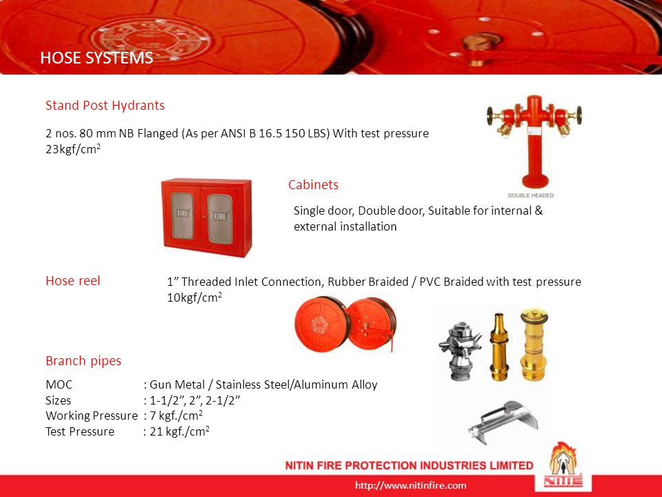 http://www.nitinfire.com Foam Equipments