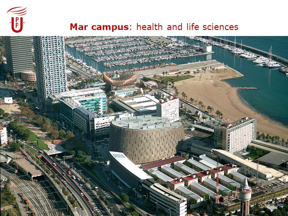 Mar campus: health and life sciences