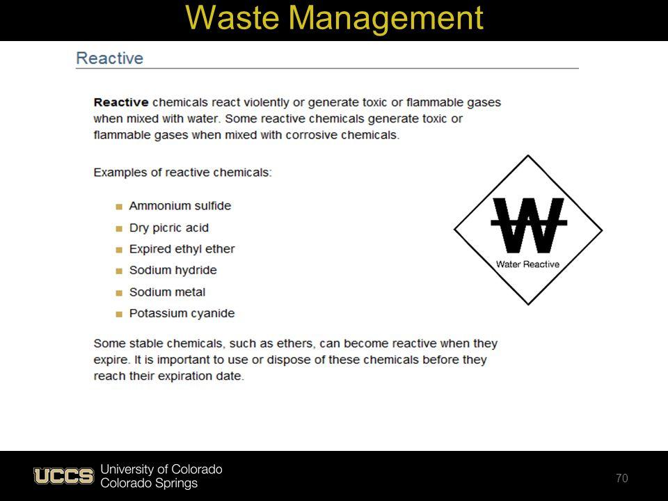 Waste Management 70