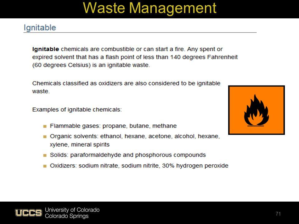 Waste Management 71