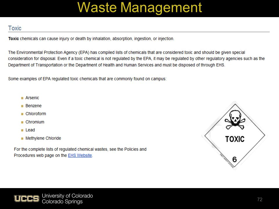 Waste Management 72