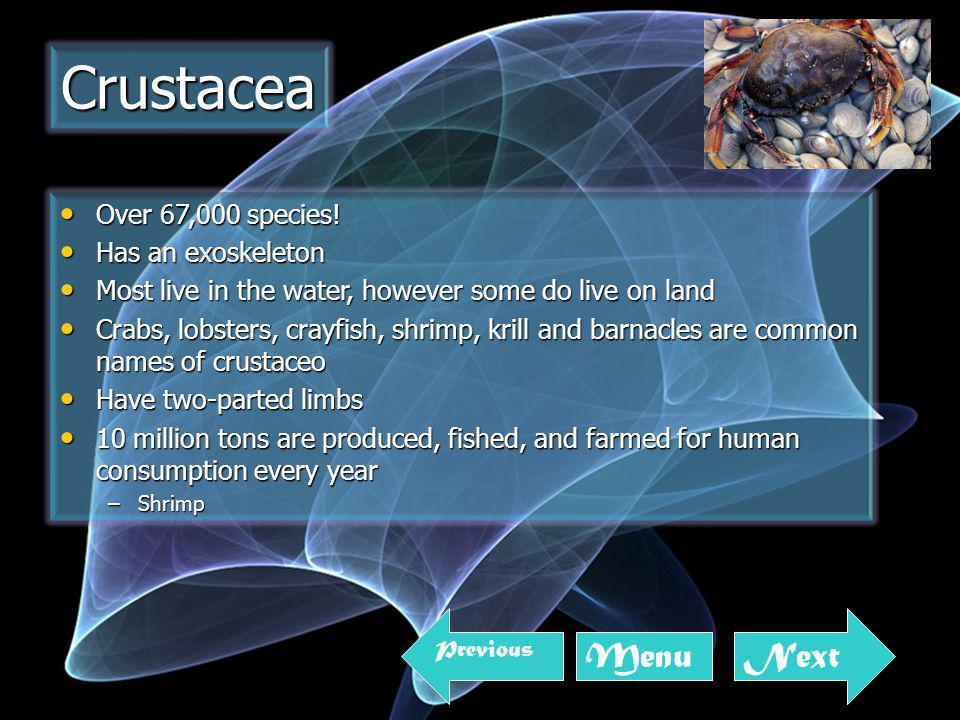 Over 67,000 species. Over 67,000 species.