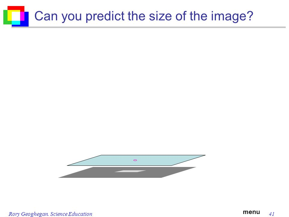 menu Rory Geoghegan. Science Education41 Can you predict the size of the image?