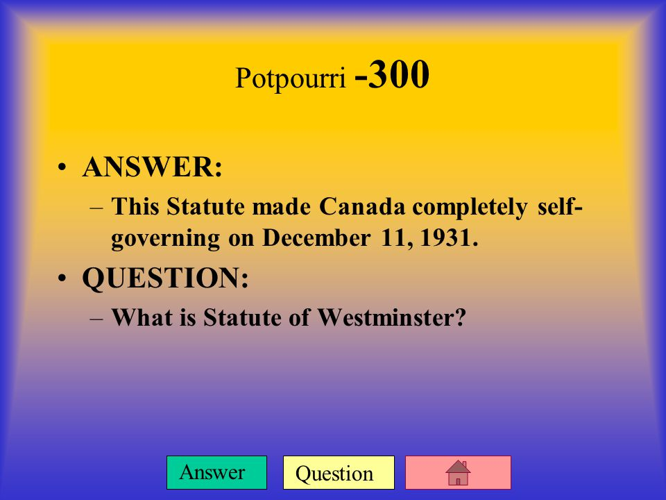 Question Answer Potpourri -200 ANSWER: –Production of agricultural product swelled in the 20s but led to overuse of the land and then an extreme drop in prices in the 30s.