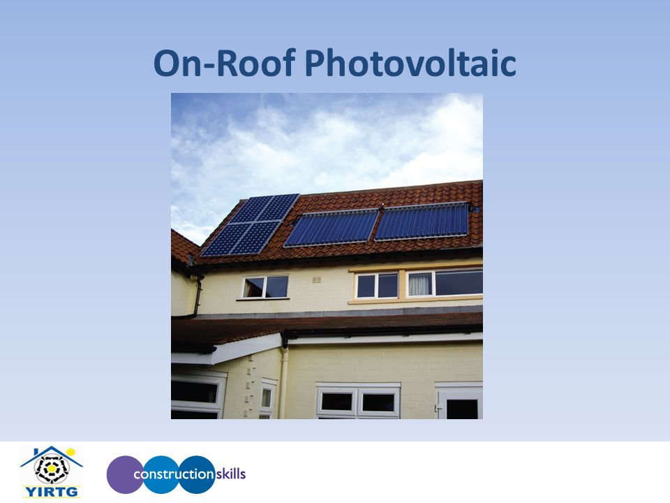 On-Roof Photovoltaic