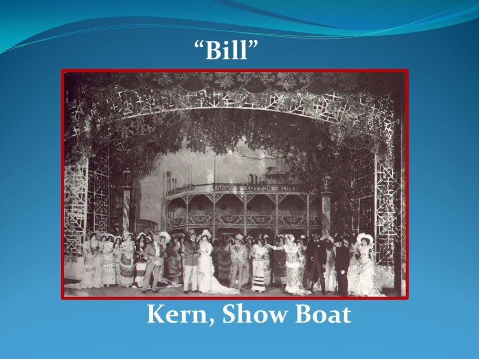 Bill Kern, Show Boat