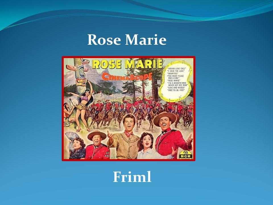 Rose Marie Friml