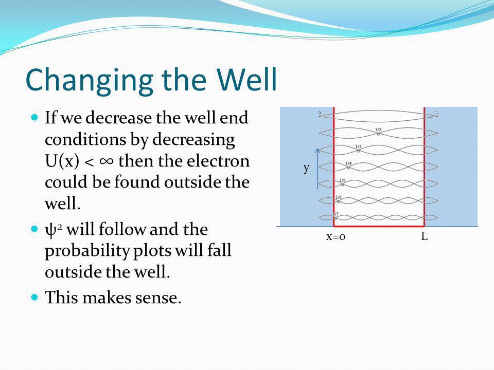 Quantum Mechanics Reconciles With Classical Physics. Joy! The Correspondence Principle: At large enough quantum numbers the predictions of quantum mec